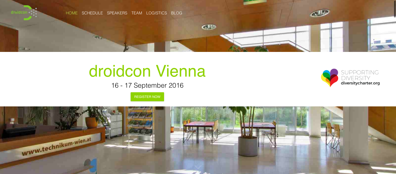 droidcon Vienna 2016